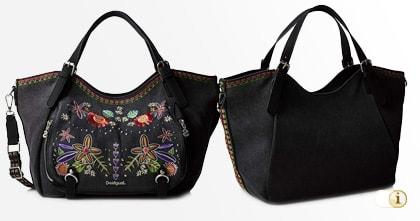 Schwarze Desigual Tasche, Candem Rotterdam - Handtasche, schwarz
