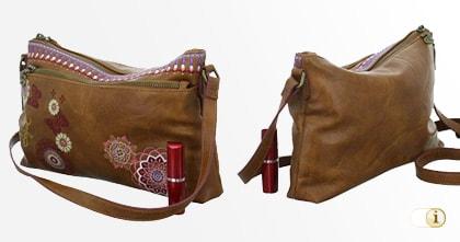 Braune Desigual Tasche, DURBAN, braun.