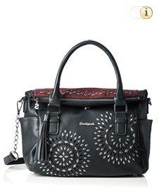 Schwarze Desigual Tasche, Loverty Luxury Dreams, schwarz.