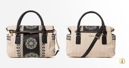 Desigual Lady Loverty Tasche, beige.