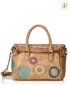 Braune Desigual Handtasche, Siara Loverty, braun.