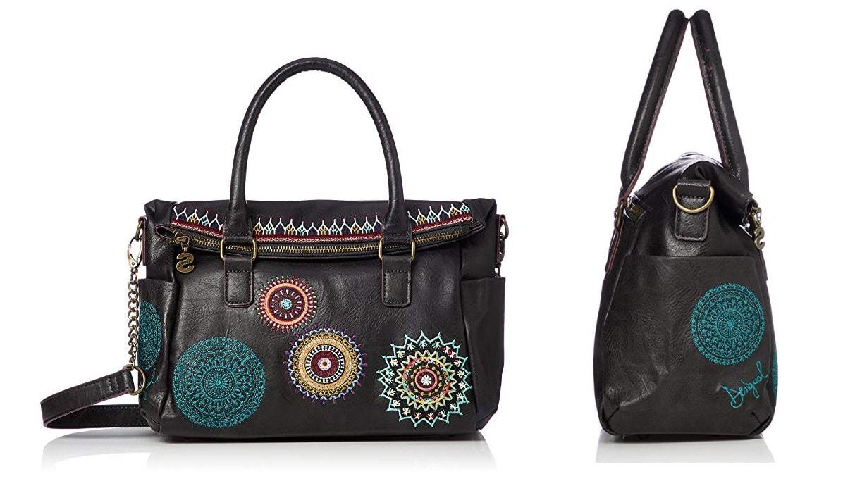 Desigual Bols Siara Loverty Handtasche, schwarz.