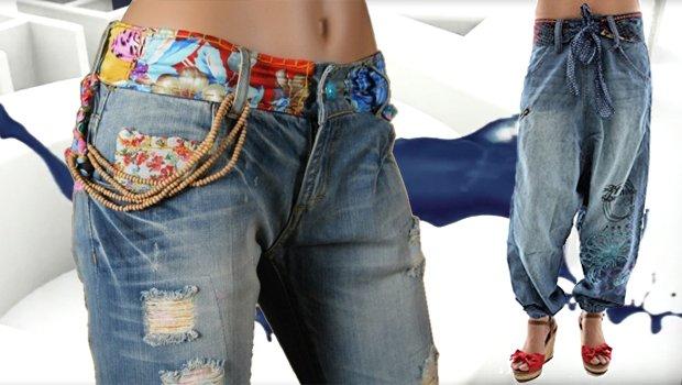 Desigual Jeans, Denim, blau.