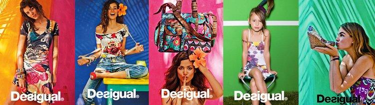 Desigual: Mode mit anziehbarer Ausstrahlung.