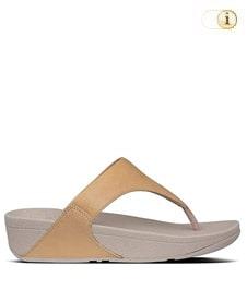 FitFlop Zehensteg-Sandale Lulu. Farbe: caramel.