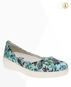 FitFlop Anna Sui Printed Ballerina Schuhe, bunt.