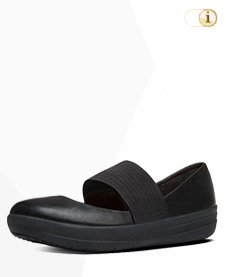Fitflop Ballerinas Mary Jane,Black.