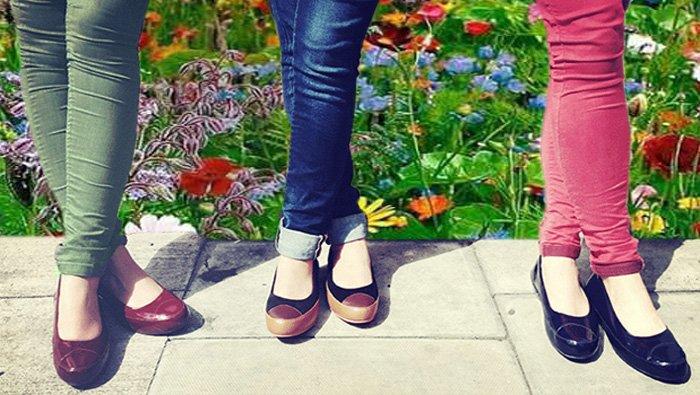 FitFlop Ballerina Schuhe.