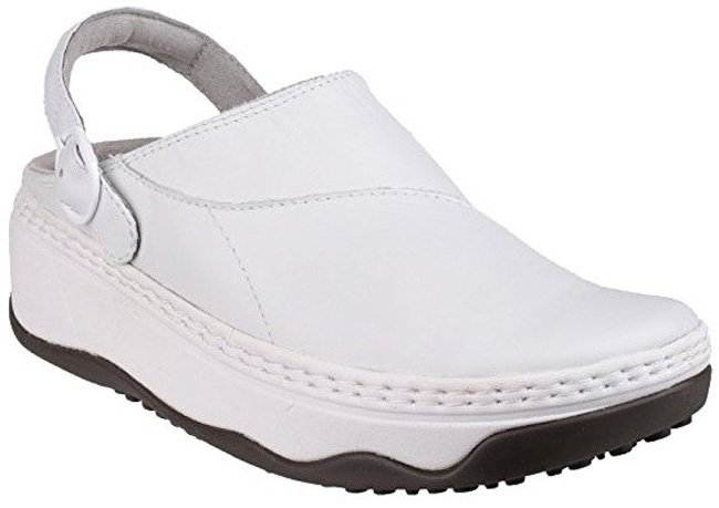 FitFlop Gogh Pro Superlight  Clog in weiß.