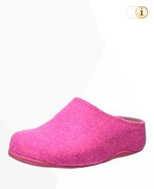 FitFlop Shuv Filz Clog, pink.