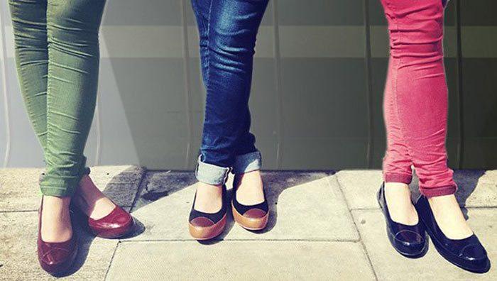Prima FitFlop Ballerina Schuhe.