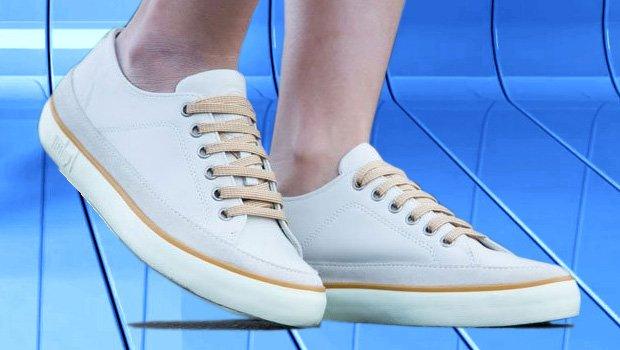 Weiße FitFlop Schuhe für Damen, weiß.