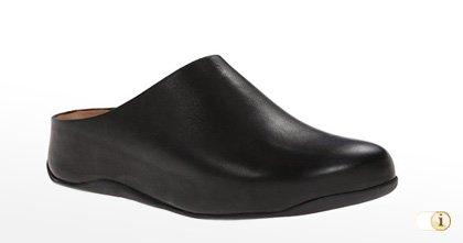 Schwarze FitFlop Schuhe, Damen Clogschuhe, schwarz.