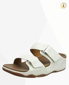 """FitFlop """"Goodstock"""" Damen-Sandale in weiß."""