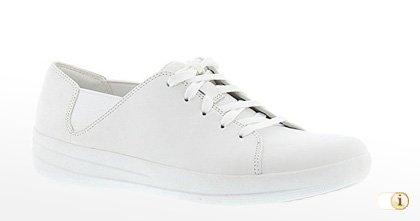 Weiße Fitflop Schuhe für Damen, Sneaker, Schuh, Weiß.