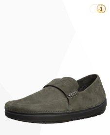 Fitflop Flex Loafer (nubuck), Herren Sneaker, grüngrau.