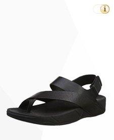 FitFlop Sling Perf Sandale, schwarz.