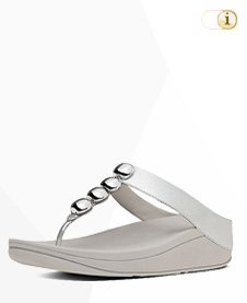 "FitFlop ""Rola"" Sandale, silber."