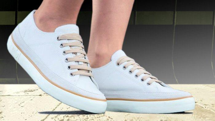 Weiße FitFlop Schuhe für Damen, Sneaker, weiß.