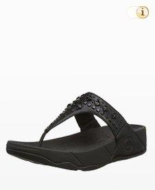 Fitflop Biker Chic Sandale, schwarz