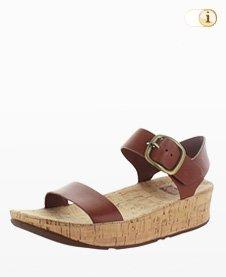 Fitflop Damen Bon Back-Strap Sandale, braun.