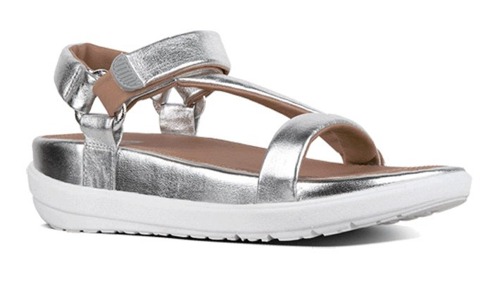 FitFlop 2018, Sandale, Limeted Edition Michelle Stein, silber.