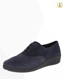 FitFlop F-Pop Opul Oxford Sneaker, blau.