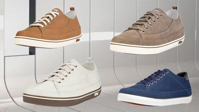 Vier FitFlop Sneaker.
