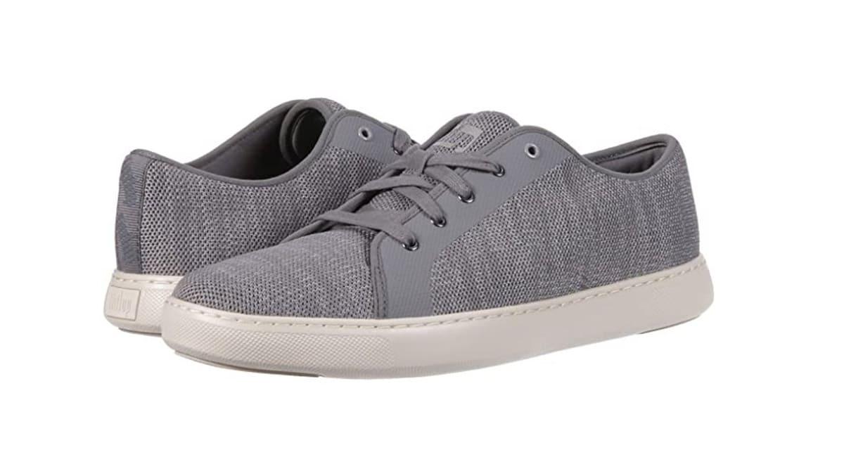 FitFlop Schuhe Damen, Sneaker, weiß, grau, blau.