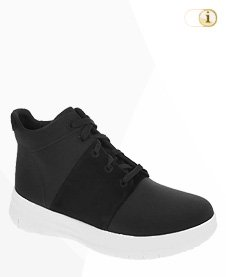FitFlop Sporty Pop X High-Top, schwarz.
