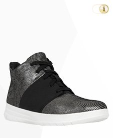 FitFlop Sporty Pop X High-Top, silber.