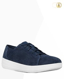 FitFlop Sporty Lace Up Sneaker, blau.