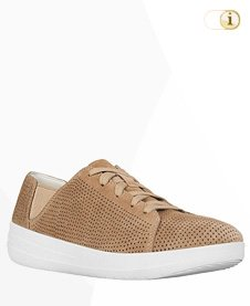 FitFlop Sporty Lace Up Sneaker, braun.