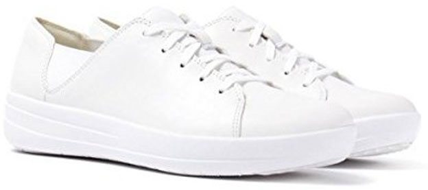 FITFLOP Sporty Lace Up Sneaker in weiss.