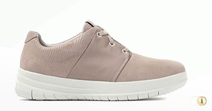 FitFlop Sporty-Pop Sneaker in rosé.
