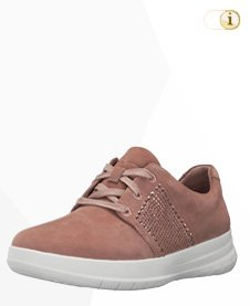 FitFlop Sporty Pop Crystal Sneaker, rosé-braun.