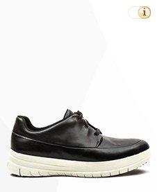 FitFlop Sporty-Pop Sneaker, schwarz.