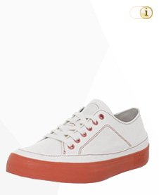 FitFlop Super T Sneaker Canvas, weiß.
