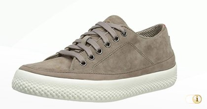 FitFlop Super T Sneaker Wildlederschuh in grau.