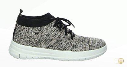 UBERKNIT Slip-On Hi-Top Sneaker, grau.