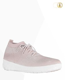 Fitflop Uberknit SLIP-ON HI TOP Schuh, rosé.
