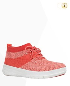 Fitflop Uberknit SLIP-ON HI TOP Schuh, orange.