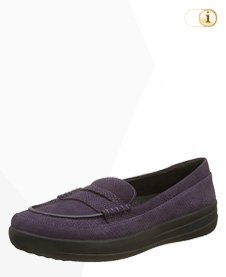 FitFlop F-Sporty Penny Loafer, purple.