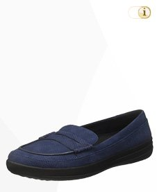 FitFlop F-Sporty Penny Loafer, blau.