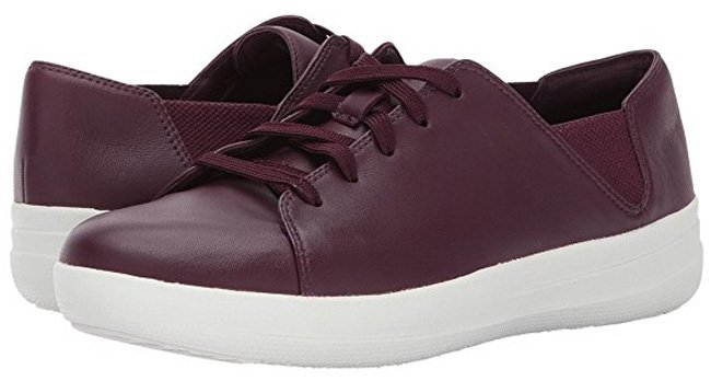 FITFLOP Sporty Lace Up Sneaker, plum.