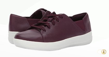 FITFLOP Sporty Lace Up Sneaker, silber.