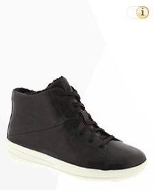 FitFlop Sneaker Boot,schwarz.