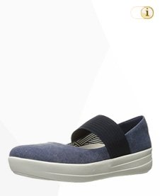 FitFlop F-SPORTY Tm MARY JANE, Schuhe, blau.