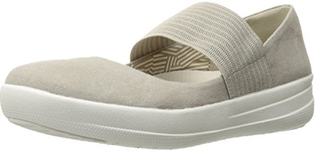 Fitflop F-SPORTY TM MARY JANE Schuhe in  grau.