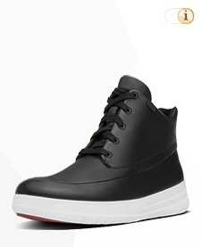 FitFlop Boots, Stiefel, Pop Hi-Top, schwarz.